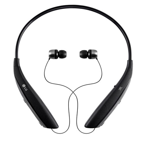 LG Electronics Tone Ultra HBS-820 Premium Wireless Stereo Headset for Any Bluetooth Devices, Black