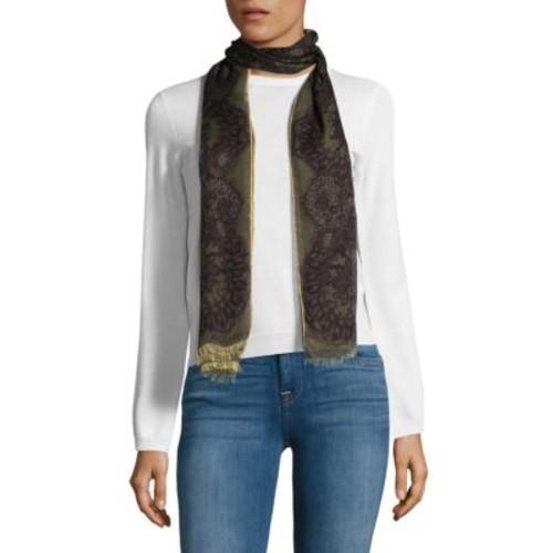 Valentino Garavani - Frayed Lace Silk Stole
