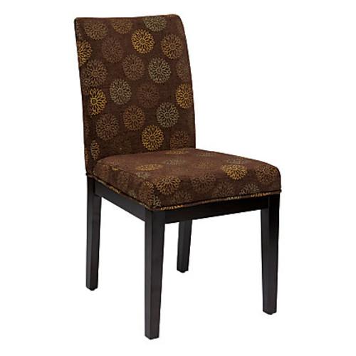 Inspired by Bassett Capri Desk Chair, Blossom Chocolate