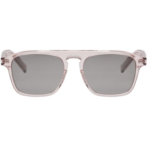 SAINT LAURENT Transparent Sl 158 Sunglasses