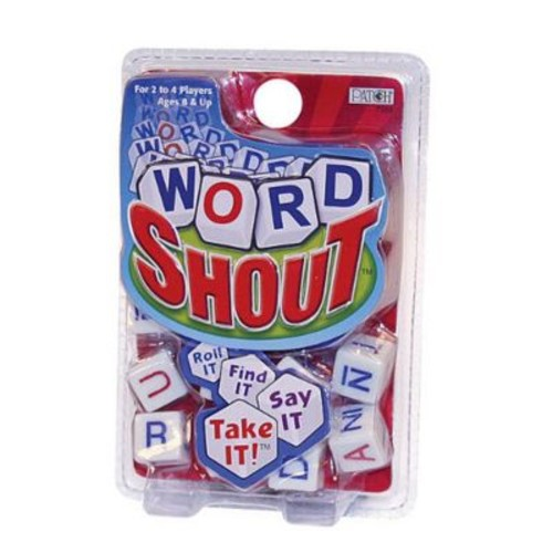 Patch Word Shout Dice Game (PTCH064)