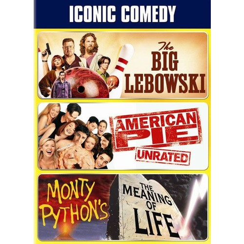 Iconic Comedy [Universal 100th Anniversary] [3 Discs] [DVD]