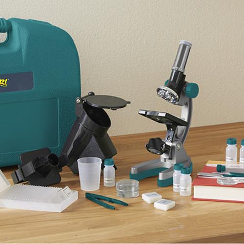 Educational Insights Geosafari Micropro Eliteu0026#8482; 98-Piece Microscope Set