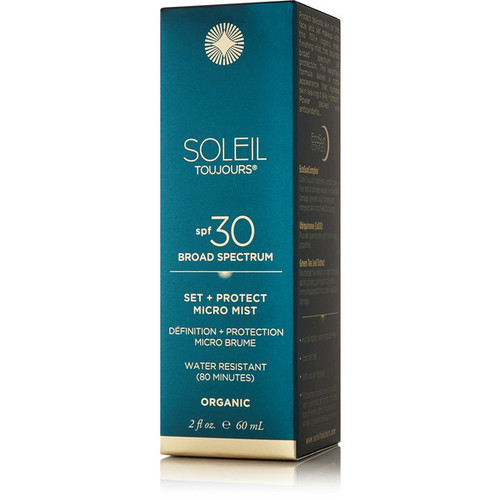 SPF30 Organic Set + Protect Micro Mist, 60ml