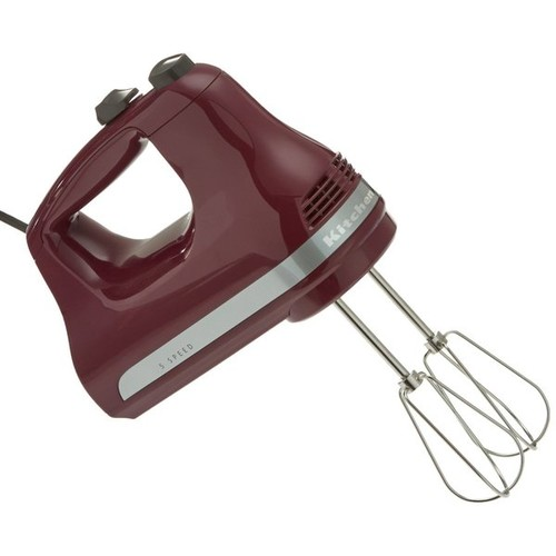 KitchenAid KHM512BY 5-Speed Ultra Power Hand Mixer, Boysenberry