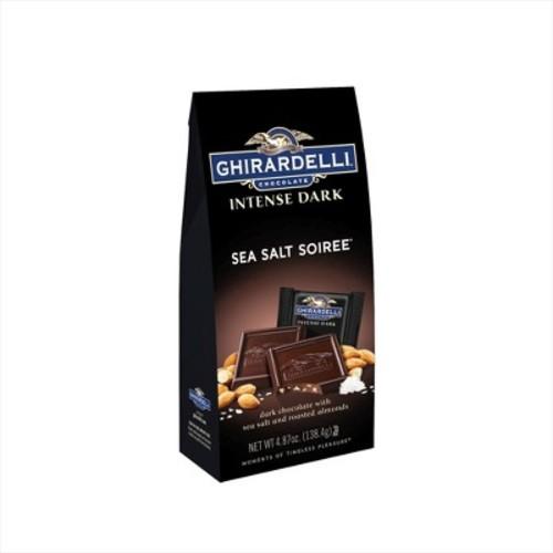 Ghirardelli Intense Dark Sea Salt Soiree Chocolates, 4.12 oz
