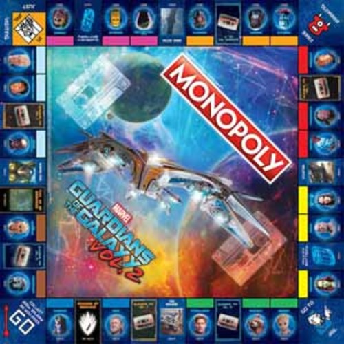 USAopoly MONOPOLY: Guardians of the Galaxy - Volume 2