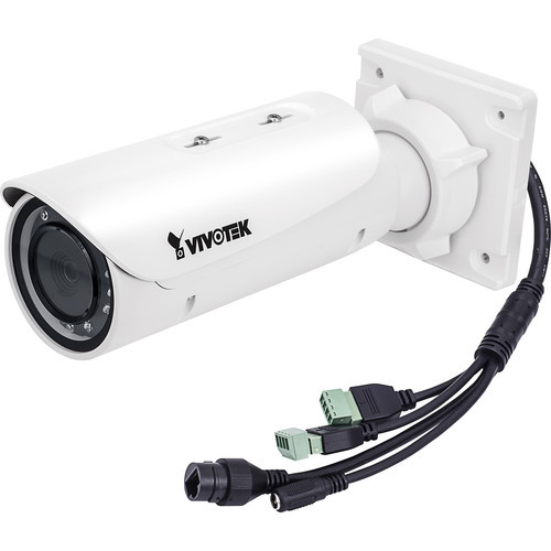 V Series 5MP Outdoor PoE Network Bullet Camera with Heater and Varifocal Lens