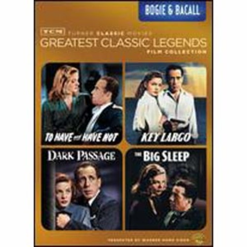 TCM Greatest Classic Legends Film Collection: Bogie & Bacall [4 Discs]