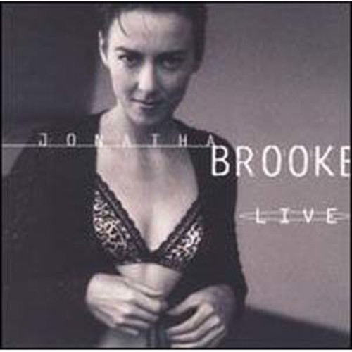 Live Jonatha Brooke Audio Compact Disc