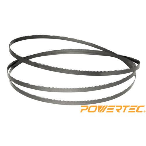 Powertec 13188X Band Saw Blade 70-1/2-Inch x 3/16-Inch x 10TPI X 0.025
