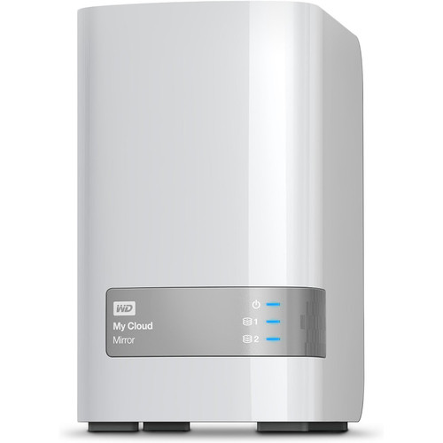 WD 6TB WD My Cloud Mirror Personal Cloud Storage - OPEN BOX