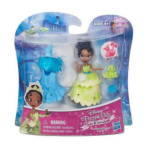 Disney Princess 3 inch Little Kingdom Fashion Change Tiana Doll