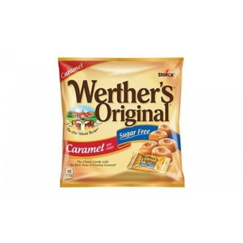 Werther's Original Sugar Free Caramel Hard Candy, 1.46 oz., 12 Count (035513)