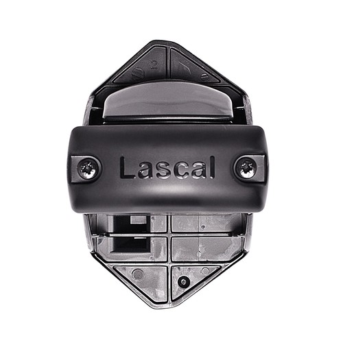 Lascal KiddyGuard Bannister Installation Kit for Locking Strip, Black [Black, Locking Strip]