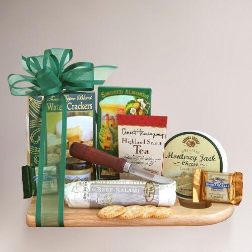 Complete Cheeseboard Gift Basket