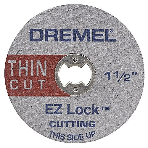 Dremel EZ409 1-1/2-Inch EZ Lock Thin Cut