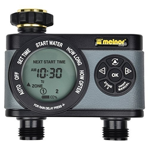 Melnor Inc. Hydrologic 2-Zone Digital Water Timer
