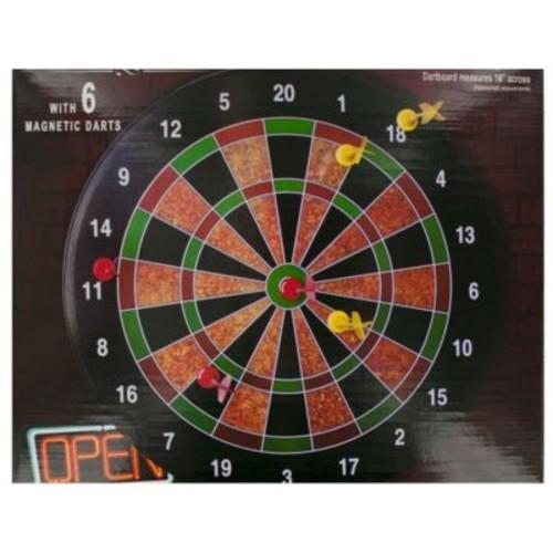 Bulk Buys Magnetic Dartboard Game - 4 Piece (KOLIM79544)