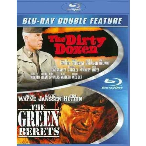 The Dirty Dozen/The Green Berets (Blu-ray Disc)
