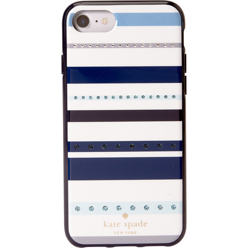 kate spade new york Jeweled Stripe iPhone 8 Case