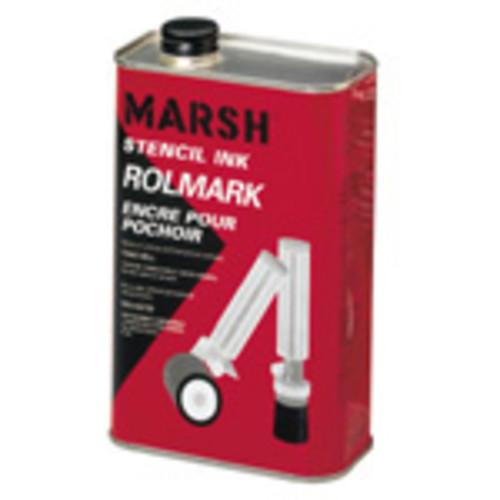 Rolmark Black Ink, Quart