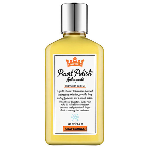 Shaveworks Pearl Polish Dual Action Body Oil
