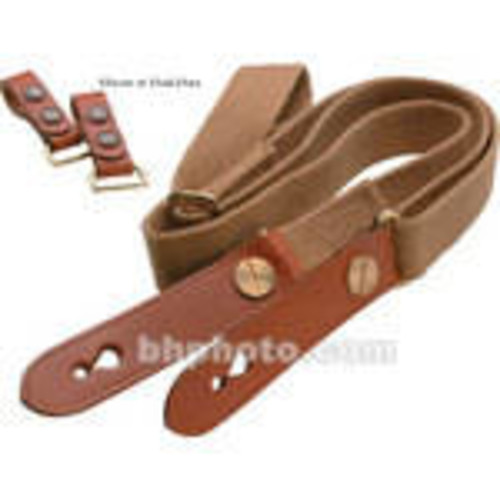 Waist Strap with Attachment Clips (Black with Tan Trim)