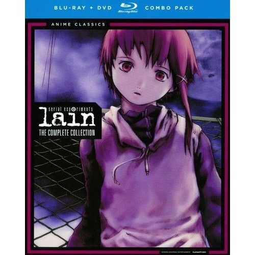 Serial Experiments Lain: The Complete Collection [4 Discs] [Blu-ray/DVD]