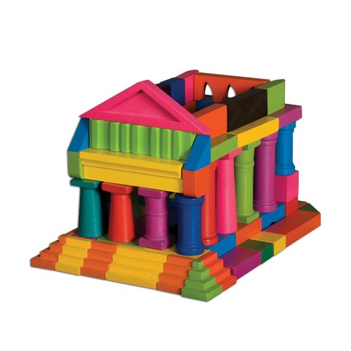 TS Shure T.S.Shure ArchiQuest Classical and European Architecture Wooden Blocks Painted E