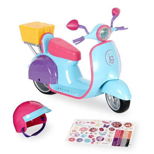 Journey Girls Adventure Doll Scooter - Blue/Pink