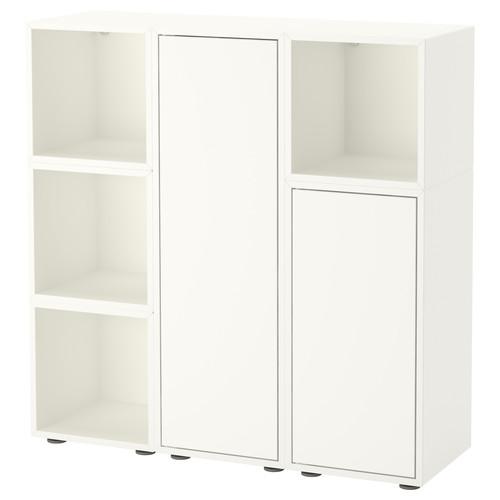 EKET Storage combination with feet, white