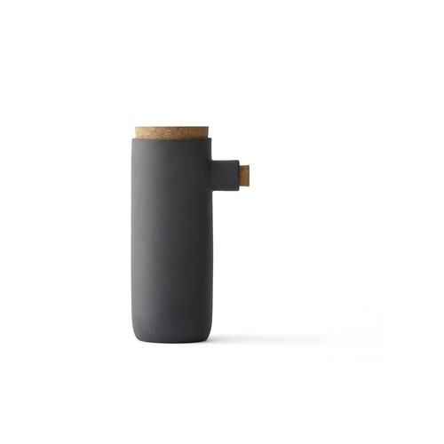 Small Spoonless Container in Carbon design by Menu