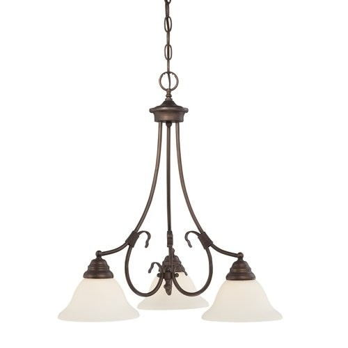 Millennium Lighting 1373 Fulton 3 Light Single Tier Chandelier