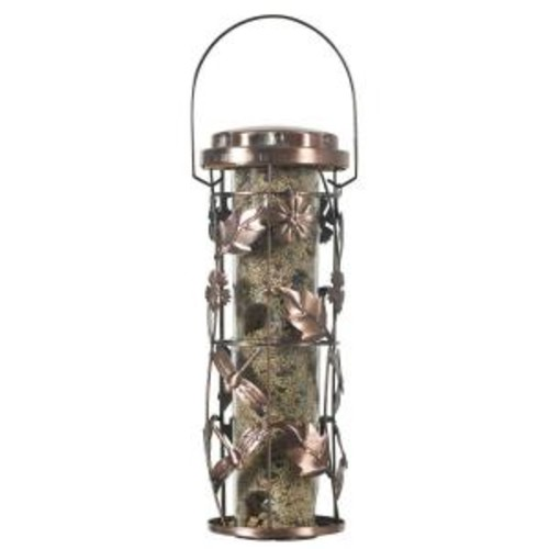 Perky-Pet 1 lb. Copper Garden Wild Bird Feeder