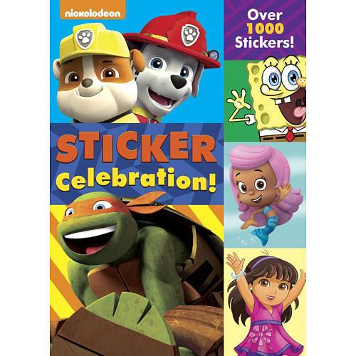 Sticker Celebration! (Nickelodeon) (Color Plus 1,000 Stickers)
