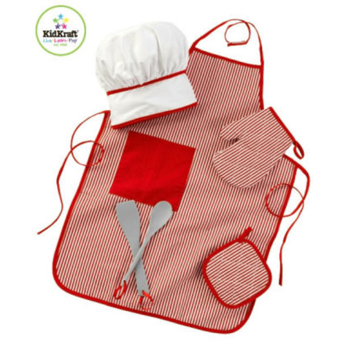 Tasty Treats Chef Accessory Set - Red