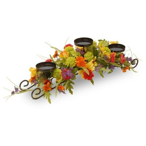 Cosmos Mixed 3-Candle Holder 30