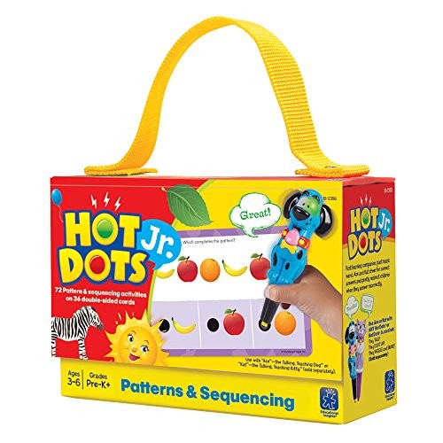 Educational Insights Hot Dots Jr. Card Set - Patterns & Sequencing