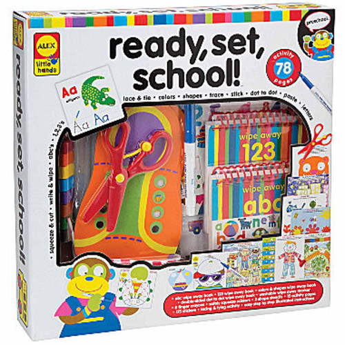 ALEX TOYS Little Hands Ready Set School Interactive Toy - Unisex