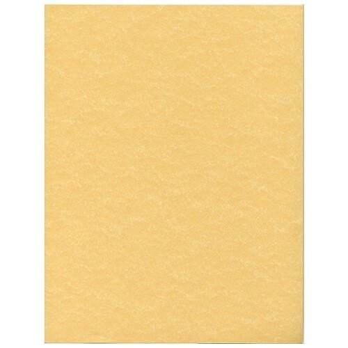 JAM Paper Parchment Cardstock - 8 1/2