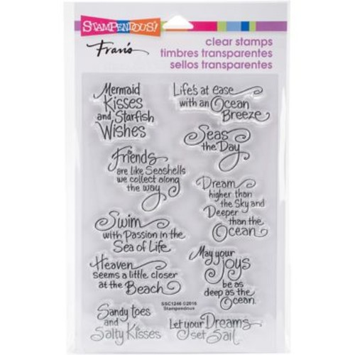 Stampendous Perfectly Clear Stamps 4.625