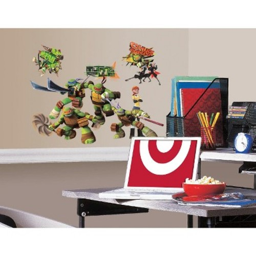 RoomMates Teenage Mutant Ninja Turtles Peel & Stick Wall Decals