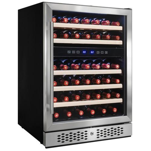 AKDY 23.5 in. 46-Bottle Built-in Compressor Wine Cooler