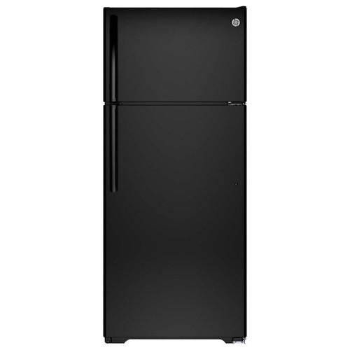 GIE18GTHBB 17.5 cu. ft. Top-Freezer Refrigerator - Black