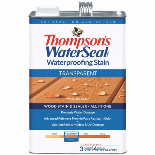 Thompson's WaterSeal Thompsons WaterSeal Transparent Waterproofing Stain - TH-041851-16