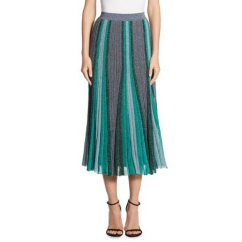 MISSONI Striped Midi Skirt