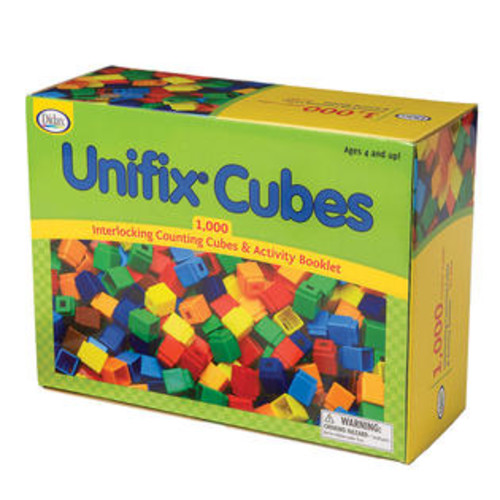 Didax Unifix Cubes 1000 Asstd Colors