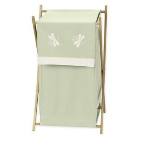 Sweet Jojo Designs Green Dragonfly Dreams Collection Laundry Hamper