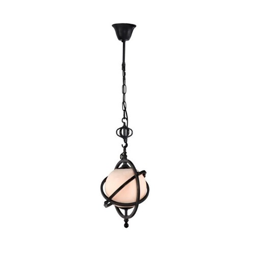 Topaz Ceiling Lamp in Antique Black Gold by Zuomodern